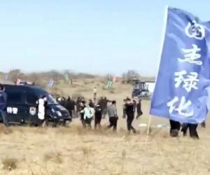 БНХАУ-д бэлчээрийг хүчээр тарианы газар болгож, монгол малчдыг хоморголон баривчилжээ