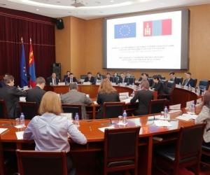 Монгол, Европын холбооны хамтын ажиллагааны хамтарсан хорооны хуралдаан боллоо