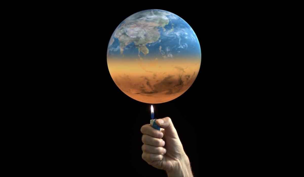 дэлхийн дулаарал зурган илэрцүүд