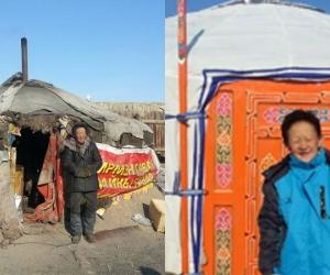 Ц.Сувд-Эрдэнэ ахин нэг эмээг орон гэртэй болгожээ