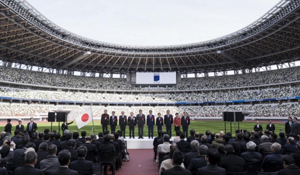 Токио-2020 олимпын цэнгэлдэх хүрээлэнг нээлээ