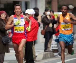 """МУГТ Б.Сэр-Од Наганогийн марафонд """"аман хүзүүдлээ"""""""