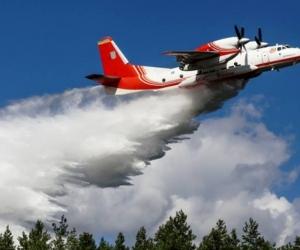Португалийн түймрийг унтрааж байсан онгоц осолджээ