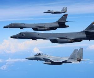 АНУ Хойд Солонгосын хил рүү хоёр бөмбөгдөгч онгоцоо илгээжээ