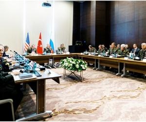 ОХУ, Турк, АНУ-ын Жанжин штабын дарга нар уулзав