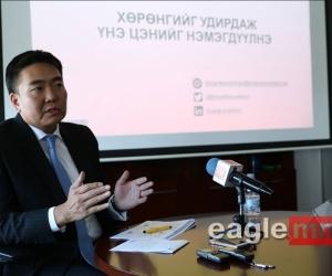 """Б.Бямбасайхан: """"Эрдэнэс Монгол"""" 10 тэрбум долларын хөрөнгөтэй болох боломжтой"""