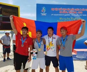 Азийн элсний наадам: Д.Балжинням алт, Б.Батзориг, Б.Анхбаяр нар хүрэл медаль авлаа
