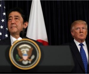 Хойд Солонгос пуужин хөөргөсөнтэй холбоотойгоор Трамп Японд зуун хувийн дэмжлэг амлав