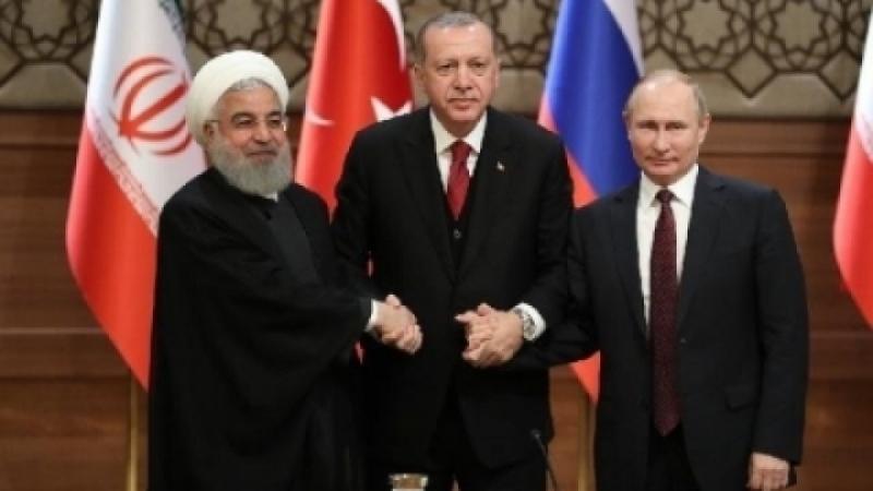 Орос, Турк, Ираны удирдагчид хамтарсан мэдэгдэл гаргажээ