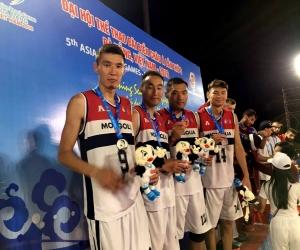 Бичлэг: Азийн элсний наадмын мөнгөн медальт Монголын эрэгтэй багийн тоглолтууд