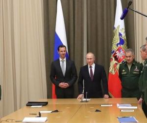 В.Путин Б.Асадтай уулзлаа