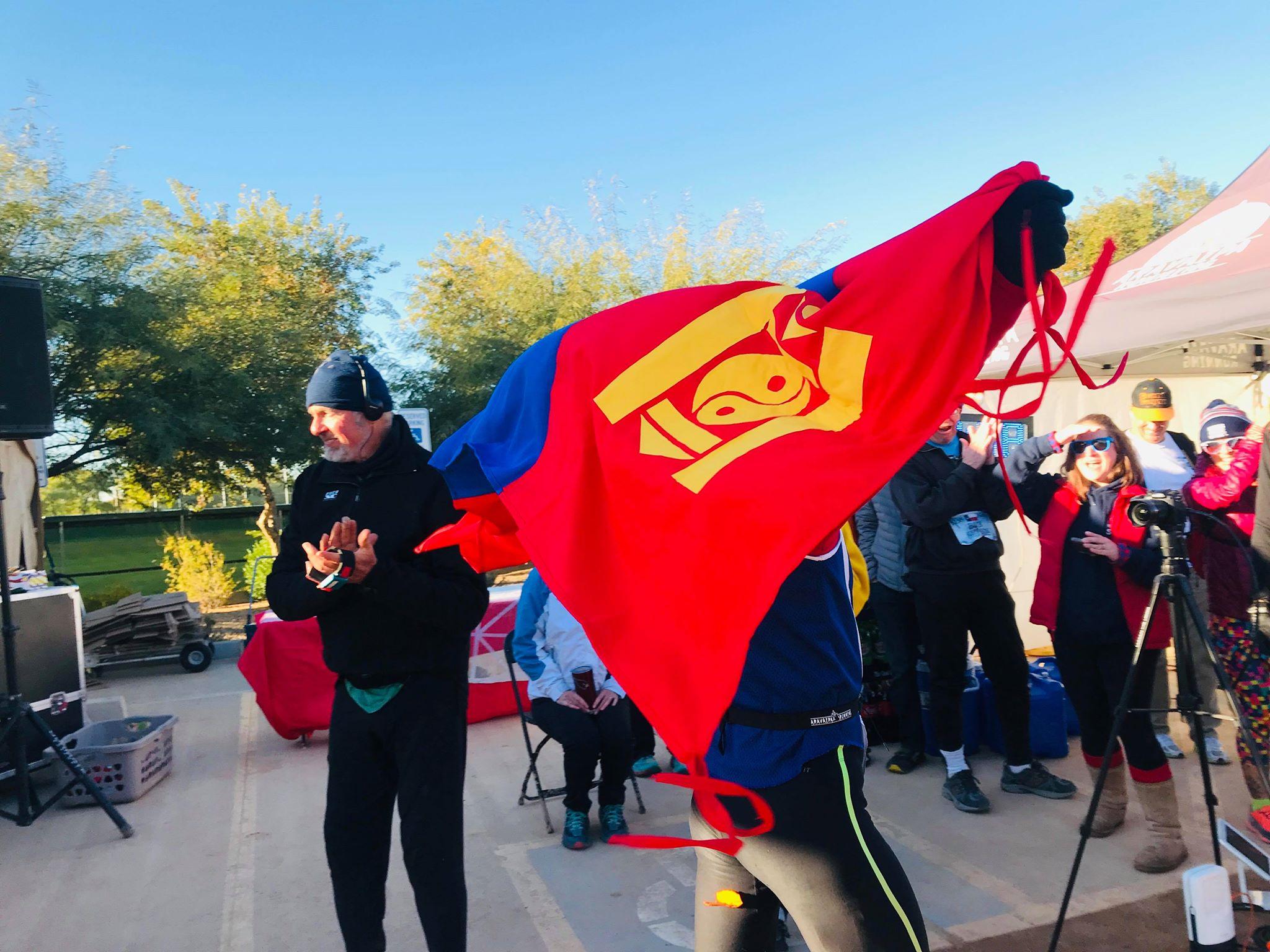 Холын зайн марафонд Монголын тамирчин Б.Буджаргал дахин түрүүлжээ