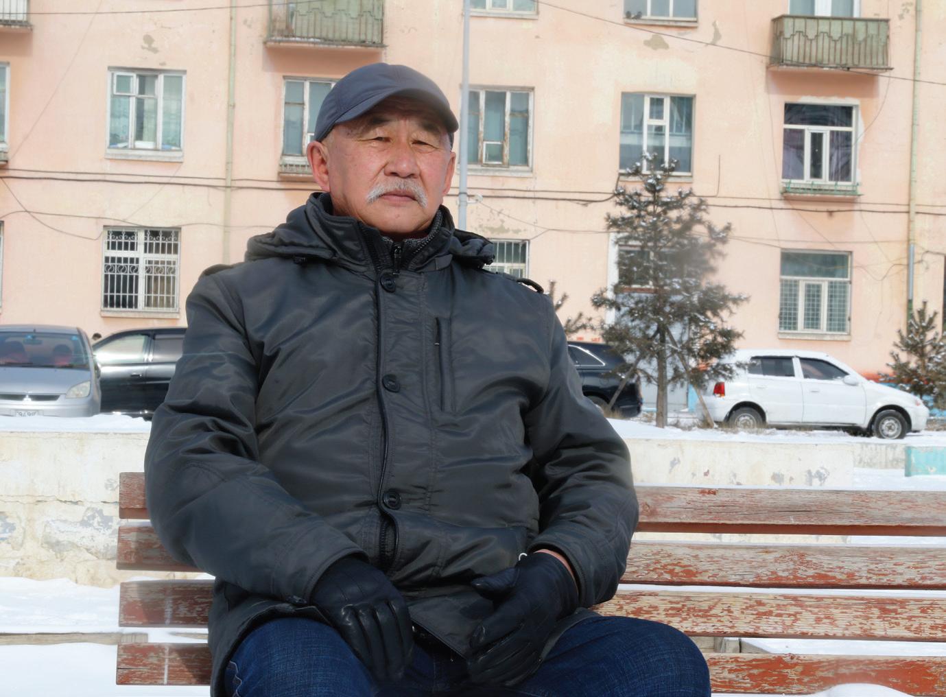 Улаанбаатарын хүмүүс: Цомхон цагаан сар