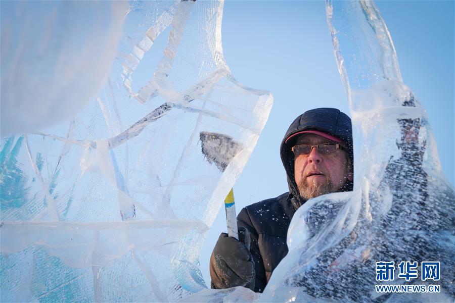 Харбины мөсөн урлалын олон улсын тэмцээн эхэлжээ