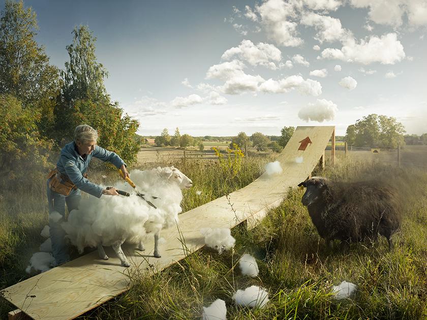 Эрик Йоханссоны визуаль урлаг