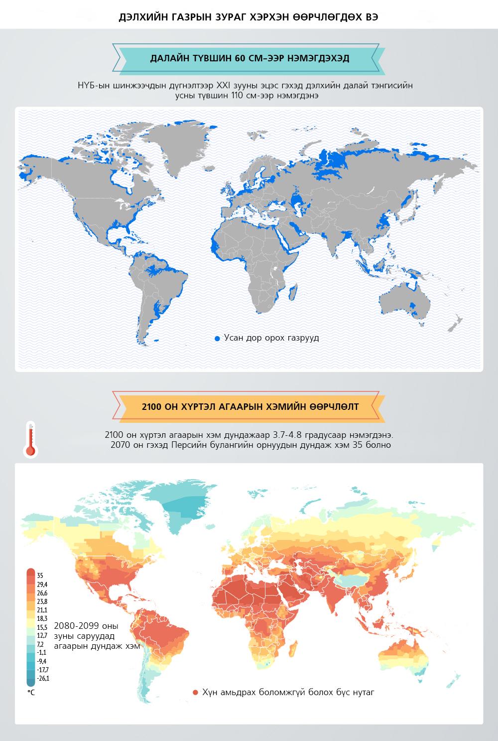 02(1446) Эрдэмтдийн таамаглал: Дэлхийн газрын зураг ирээдүйд хэрхэн өөрчлөгдөх вэ