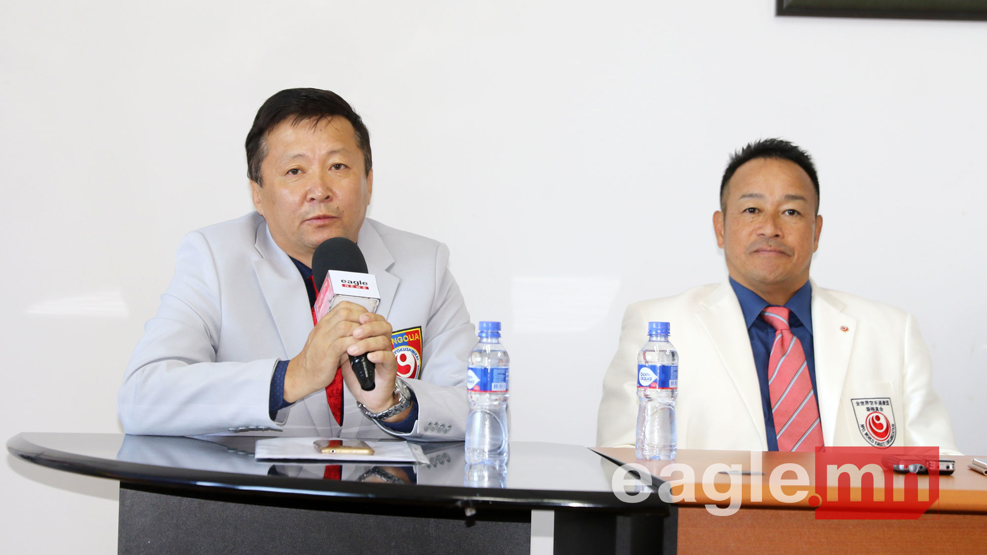Шинкиокушинкай каратегийн амьд домог Кенжи Мидори Монголд зочилж байна