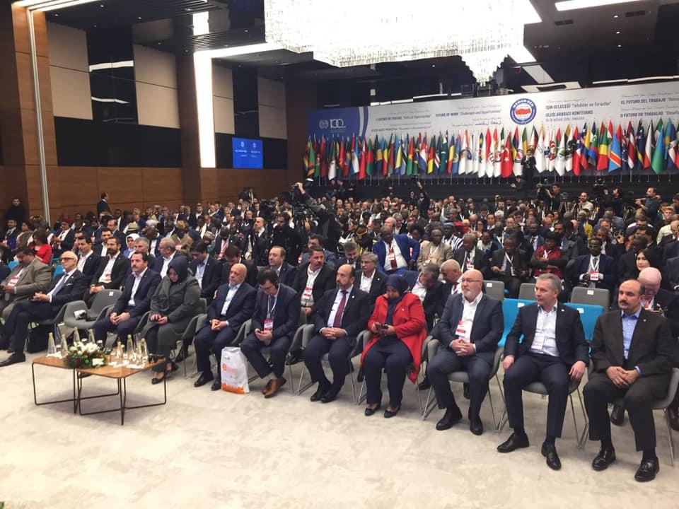 Туркийн Төрийн албан хаагчдын ҮЭ-ийн холбооны их хуралд МҮЭХ-ны төлөөлөгчид оролцож байна
