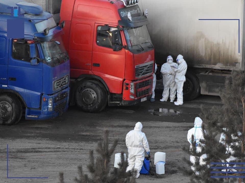 ОХУ-аас ирсэн ачаа тээврийг ариутган халдваргүйжүүлж байна