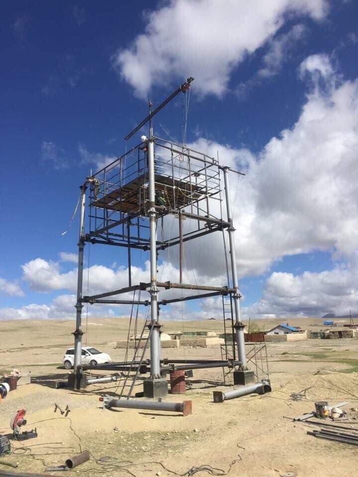 Монголд анх удаа спорт авиралтын хана баригдаж эхэлжээ