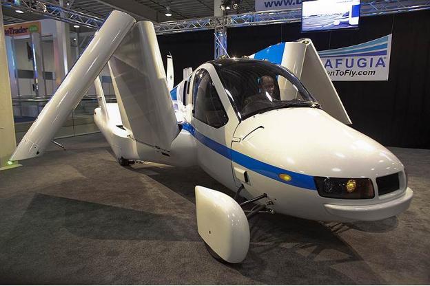 """""""Terrafugia"""" компани ирэх онд нисдэг машин худалдаанд гаргана"""