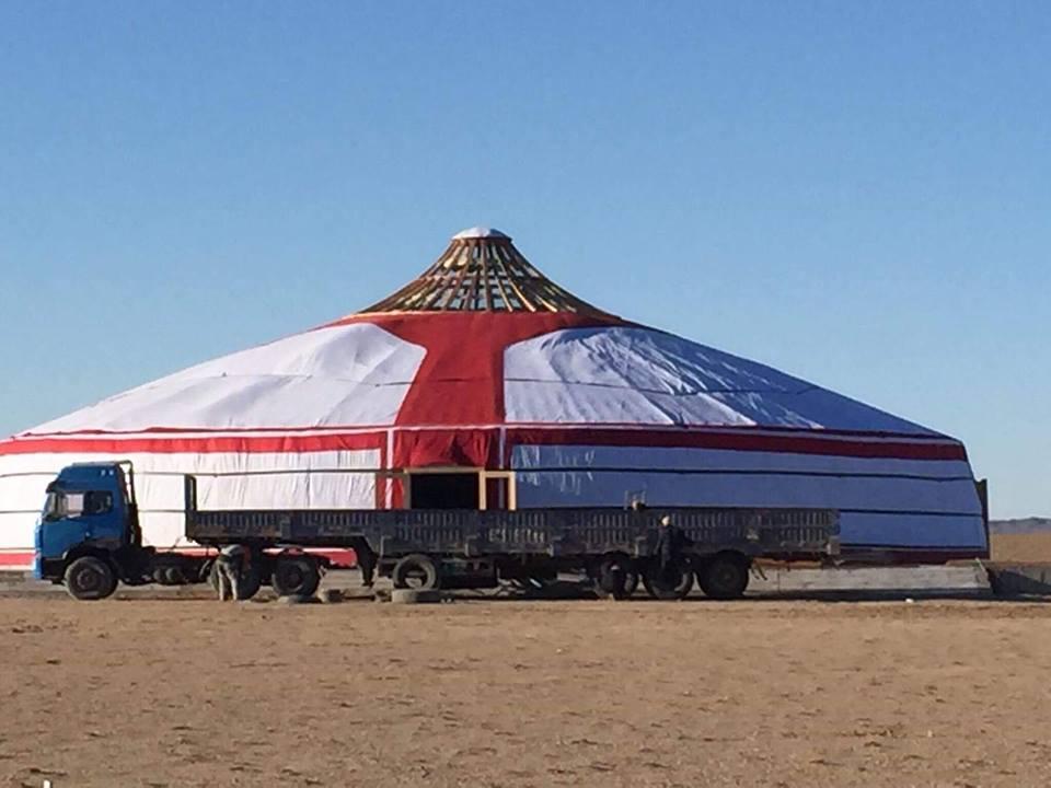 Хамгийн том монгол гэрийг Гиннест бүртгэжээ