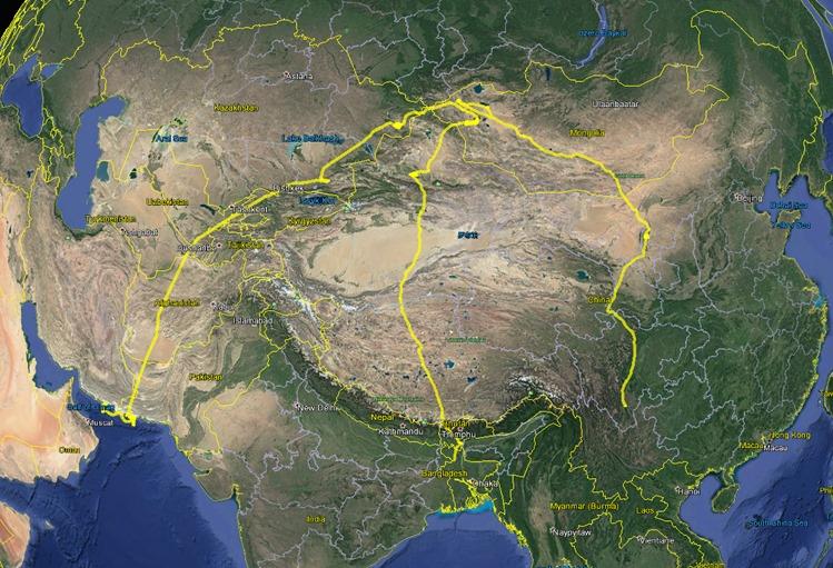 Монголын итэлгэн цахлай Оманы хоолойд өвөлждөгийг тогтоожээ
