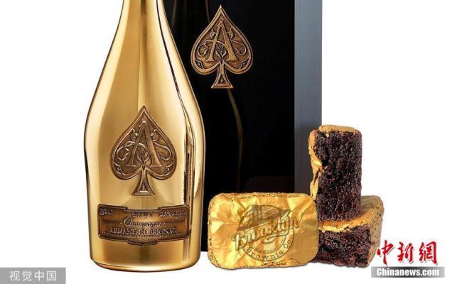 Дэлхийн хамгийн үнэтэй амттан алтан ялтастай бранни