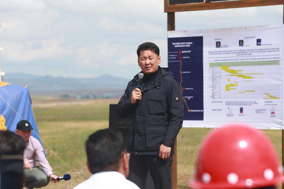 Улаанбаатар-Дархан чиглэлийн замыг шинэчилж эхэллээ