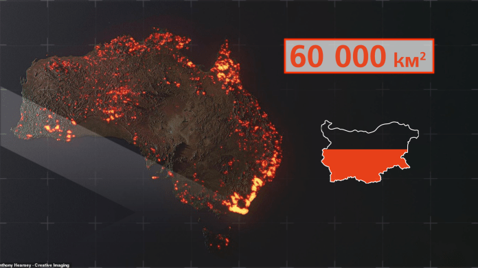 Австралийн түймрийн талаарх мэдээллийг хэтэрхий хөөрөгдөж байна уу