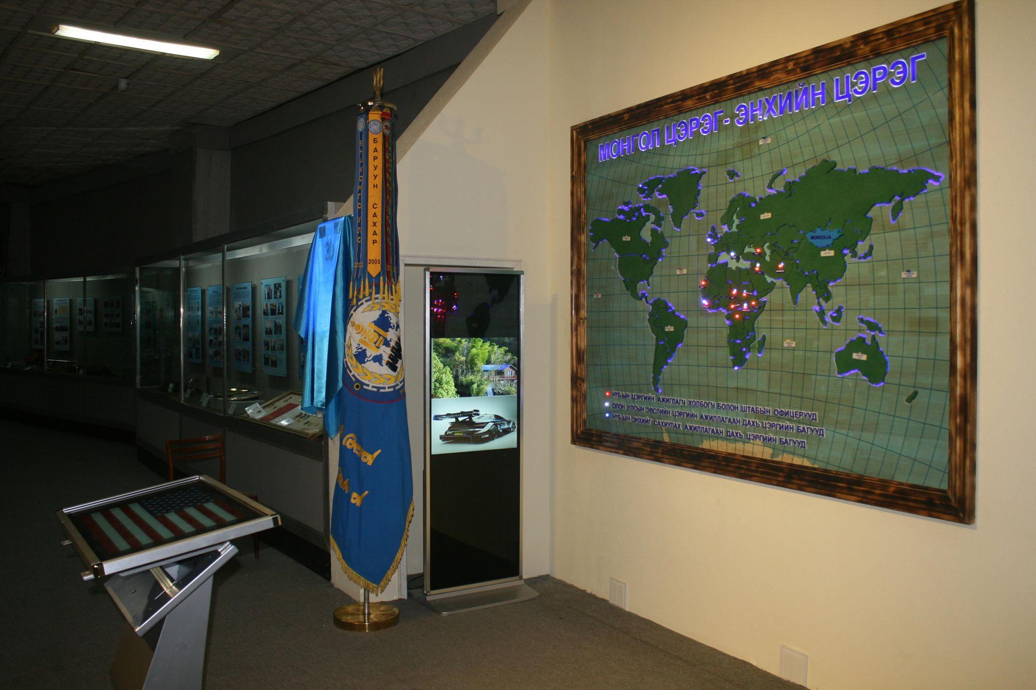 Монгол цэргийн музей үзмэрээ шинэчилжээ