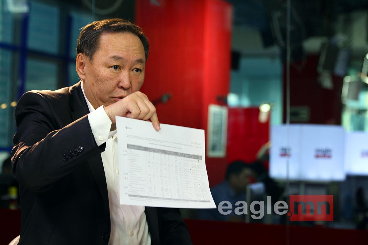 Н.Батбаяр: Монгол Улс бондын 580 сая ам.долларыг төлж чадна