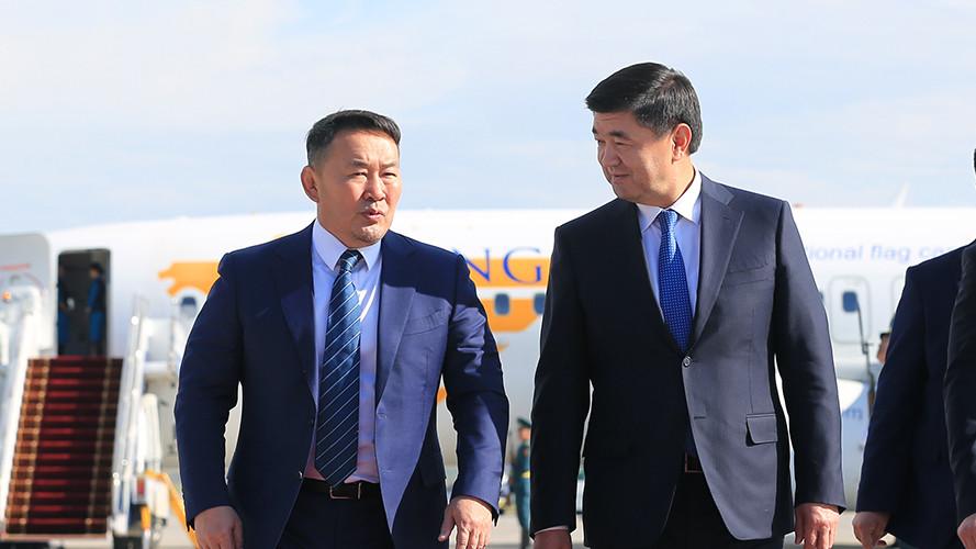 Монгол Улсын Ерөнхийлөгч Х.Баттулгын Киргиз улсад хийх айлчлал эхэллээ
