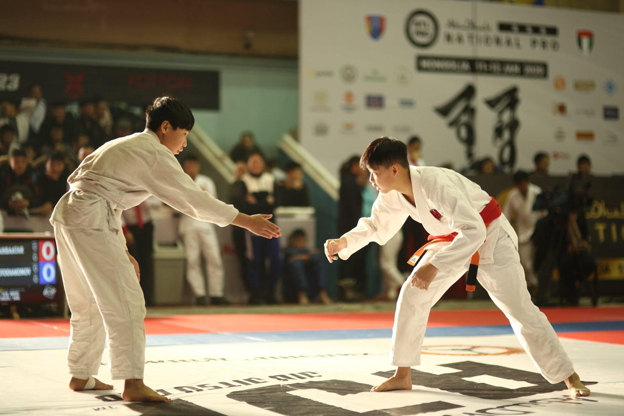 Жюү жицүгийн Улсын аварга шалгаруулах тэмцээн үргэлжилж байна