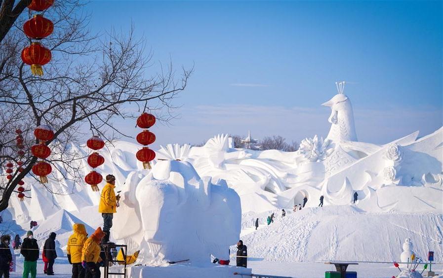 Монголын баг Харбины мөсөн урлалын фестивальд түрүүллээ