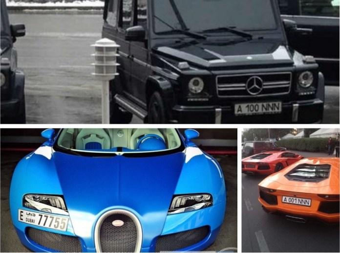 Н.Назарбаевын гэр бүл машины цуглуулгаасаа дуудлага худалдаагаар зарна
