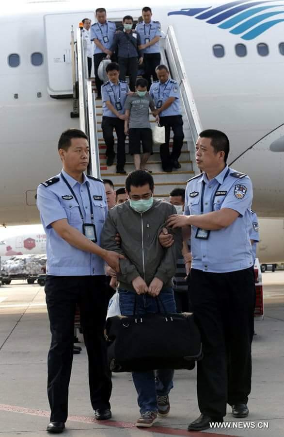 Хятадад оффшор данстай 18 иргэнийг хилийн чанадаас баривчлан авчирчээ