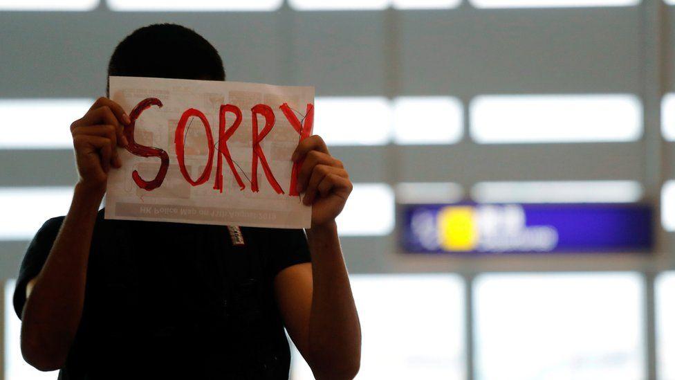 _108302631_mediaitem108302630 Хонконгийн онгоцны буудалд эмх замбараагүй байдал үргэлжилсээр байна