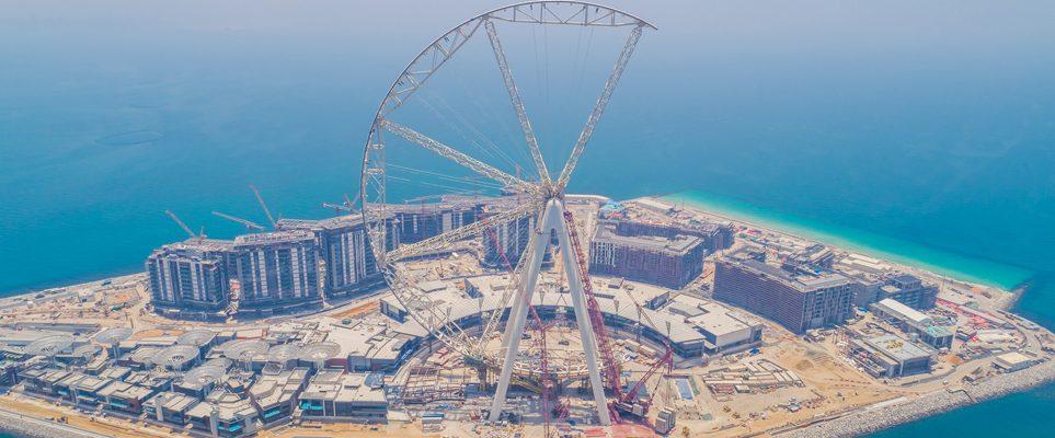 Дубайд хамгийн том алсыг харагч босож байна