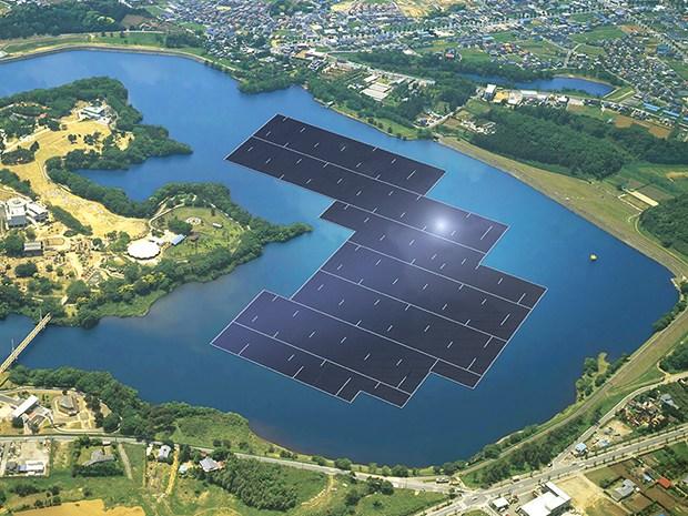 Дэлхийн хамгийн том хөвдөг нарны цахилгаан станц 93 000 өрхийг хангана