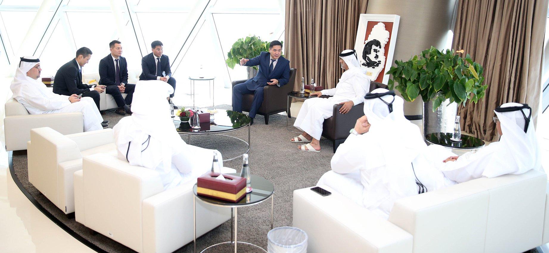 Монголын хөл бөмбөгийн холбоо, Катарын холбоотой хамтарч ажиллана