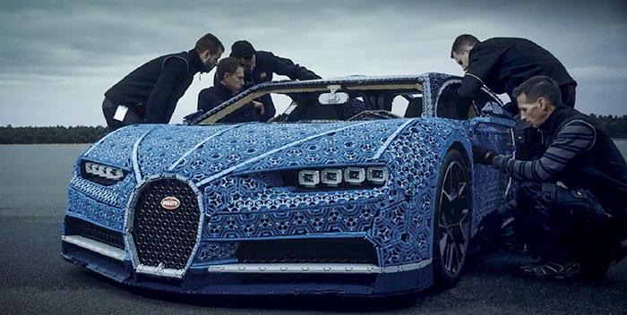 Лего-гоор хийсэн Бугатти загварын машин 3 сая долларын үнэтэй