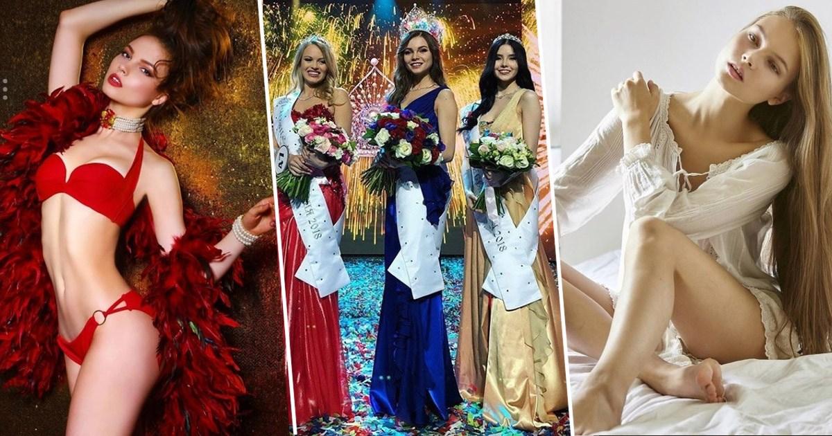 """""""ОХУ-ын мисс 2018""""-ын ялагч Юлия Полячихинагийн гэрэл зургууд"""