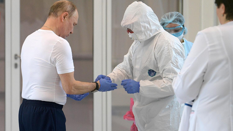 Владимир Путины хамгаалалтын хувцас